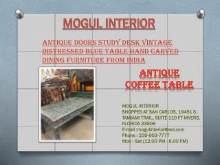 Antique Table by Mogulinterior