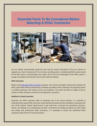 Allen HVAC Contractor