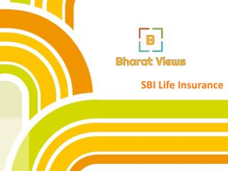 SBI Life Insurance Policies
