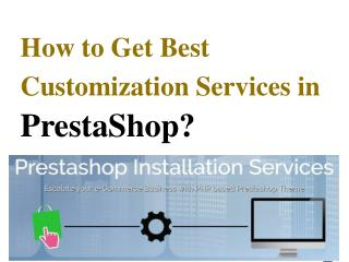 Prestashop Theme Installation Service