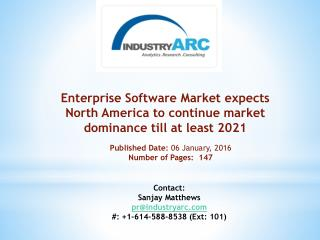 Enterprise Software Market boosted by diverse abilities of corporate software to solve business problems