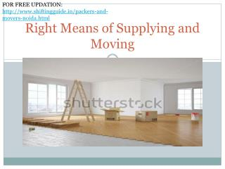 Packers and Movers, Get Free Quotes from Top Movers and Packers