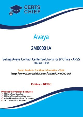 2M00001A Latest Certification Practice Test