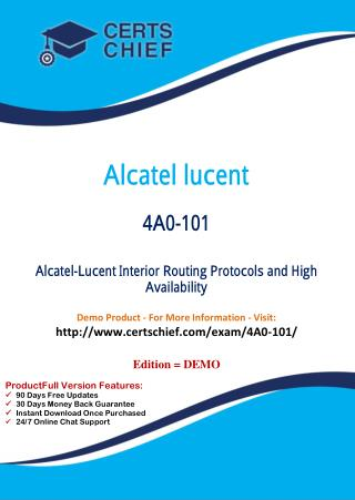 4A0-101 Education Certification Test