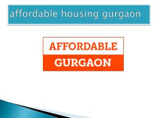 affordable homes in gurgaon