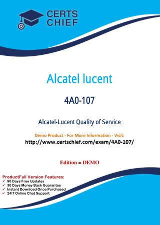 4A0-107 Education Certification Test