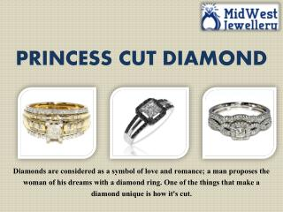 Princess Cut Diamond Jewelry