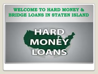 Bridge Loan Staten Island