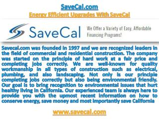 SaveCal.com ! SaveCal