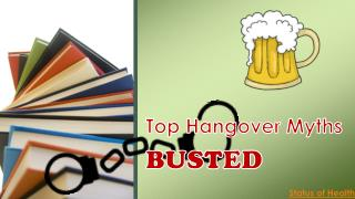 Hangover Myths Busted