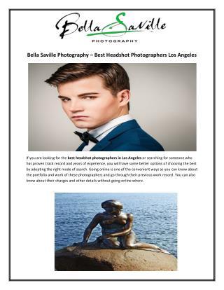 Bella Saville Photography – Best Headshot Photographers Los Angeles