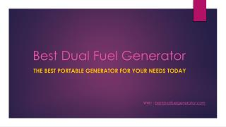Portable Generator Is Mostly Liked