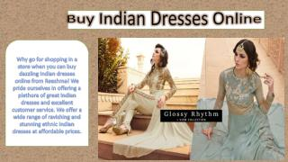 Buy Indian Dresses Online