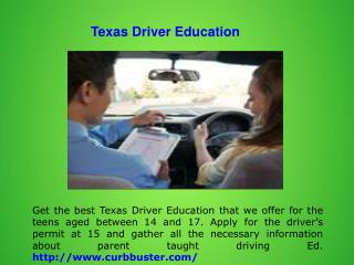 Texas Driver Education