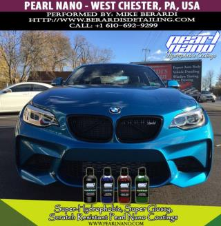 Shiny, Shimmering & Splendid BMW M2 After Ceramic Coated by Mike Berardi