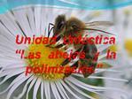 Unidad  did ctica   Las  abejas  y  la  polinizaci n .