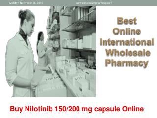 Generic Nilotinib Tasigna | Nilotinib 150 mg