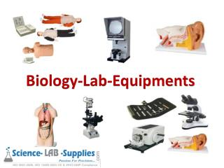 Educational Biology Lab Equipments Manufacturer