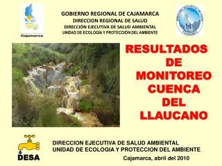 DIRECCION EJECUTIVA DE SALUD AMBIENTAL UNIDAD DE ECOLOGIA Y PROTECCION DEL AMBIENTE