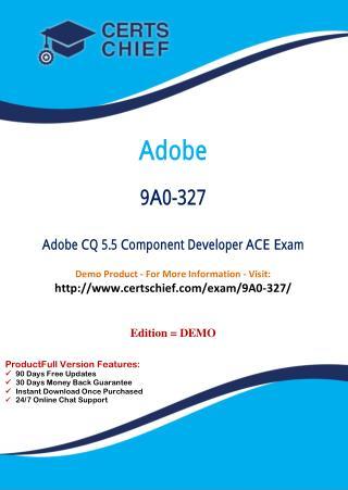 9A0-327 Professional Certification Test