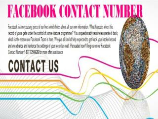 Call Facebook Customer Service 1-877-729-6626- Get liberate Of Your troubles