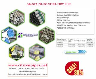 304 stainless steel ERW pipe