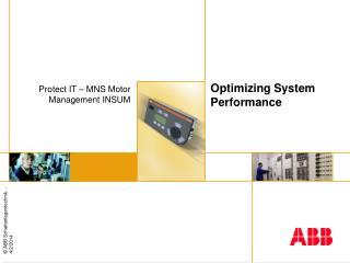 Optimizing System Performance