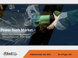 Power Tools Market growing due to Importance of Asset Management in Industry