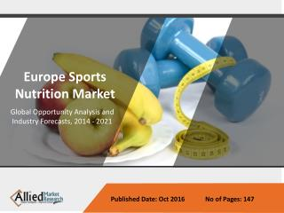 Sports Nutrition Market set for impressive growth in Europe