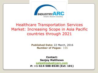 Healthcare Transportation Services Market: rising demand for non-emergency medical transportation for regular patients f