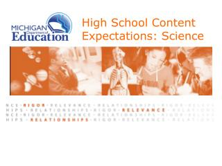 High School Content Expectations: Science