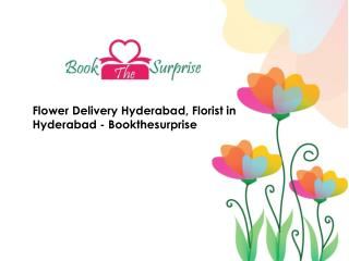 Flower Delivery Hyderabad, Florist in Hyderabad - Bookthesurprise