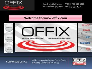 Office Equipment Provider -Offix
