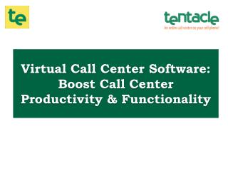 19 ways to Improve Call Center Productivity & Functionality using Virtual Call Center Software