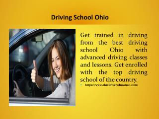 Driving School Ohio