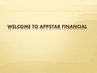 Appstar Financial Job ! Appstar Financial Career