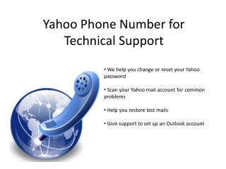 Yahoo Technicial Support (24/7)