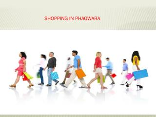 Shopping in Phagwara