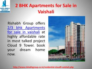 2 BHK Apartments in vaishali Indirapuram