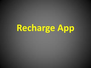 FREE RECHARGE LOOT TRICKS, RECHARGE APPS