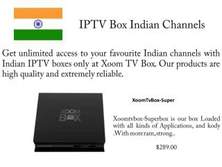IPTV Box Indian Channels