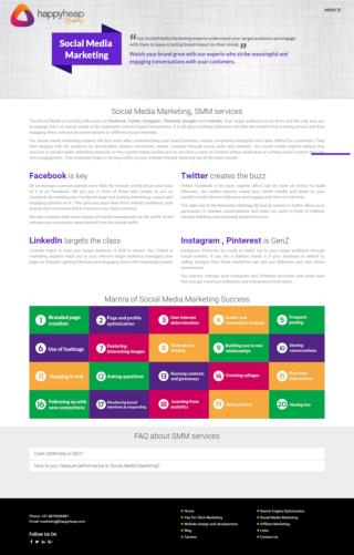 Social Media Marketing Services Company