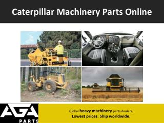 Caterpillar Parts Dealer Online