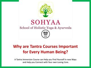 Why are Tantra Courses Important  for Every Human Being?
