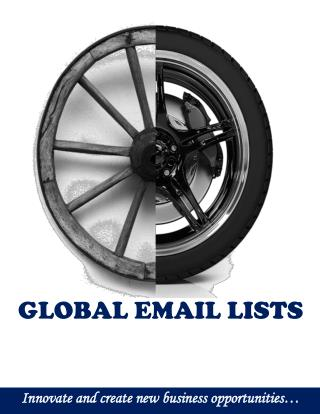 Global Email Lists - Brochure