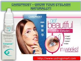 Careprost Eye Drops - Grow Your Eyelash Naturally