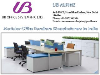 Modular Office Furniture in India - Best Office Furniture Manufacturers