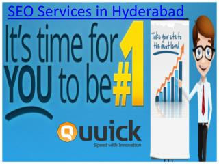 Seo Services in Hyderabad,Best Seo Companies in Hyderabad – Quuick