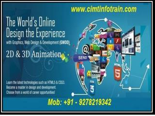 Join Top Animation Institutes in noida for 3D Animation course.