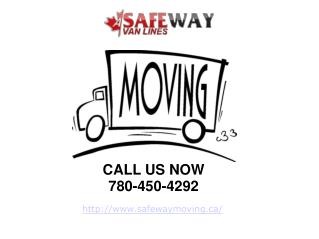 Edmonton Movers – Residential & Commercial Moving Services